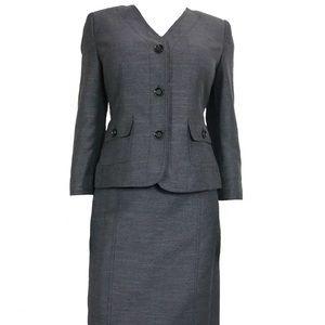 NWT Le Suit Women's Tuileries 2 Pc Suit Size 10